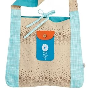 Two market tote bags by Ecojot
